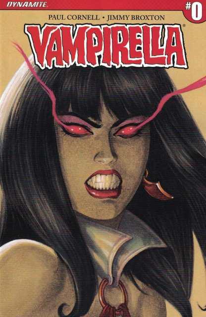Vampirella #0 1:50 Linsner Sneak Peek Variant Cover B Dynamite 2017