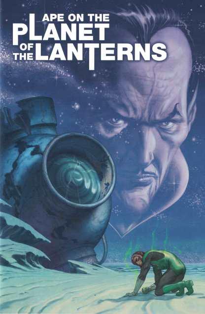 Planet of the Apes Green Lantern #1 1:15 Morris Variant Boom Studios DC 2017