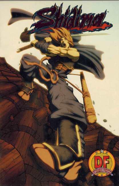 Shidima #1 Dynamic Forces Exclusive Foil Variant Sealed Image Comics
