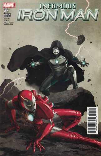 Infamous Iron Man #3 1:25 Steve Epting Variant NOW Marvel 2016 Dr Doom