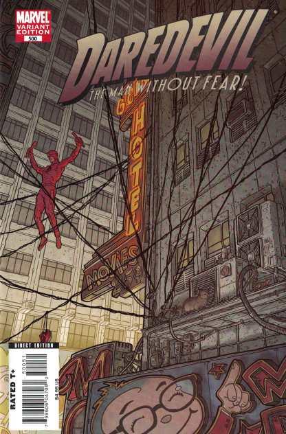 Daredevil #500 1:15 Geoff Darrow Variant Marvel 1998 Brubaker Lark