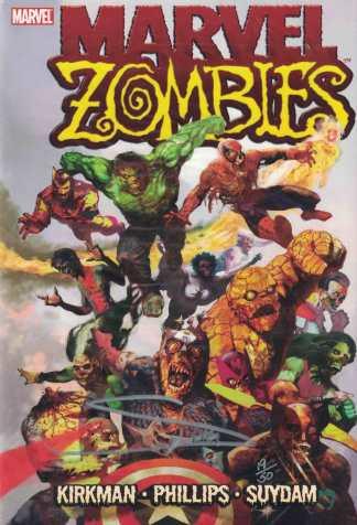 Marvel Zombies Dynamic Forces Arthur Suydam Signed HC Hardcover 19/50 w/COA
