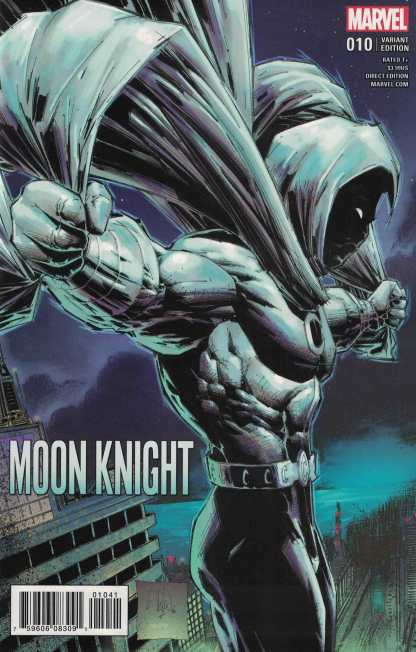 Moon Knight #10 1:25 Whilice Portacio Classic Variant NOW Marvel 2016