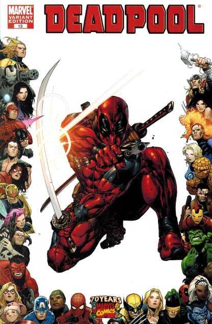 Deadpool #13 1:10 Segovia 70th Anniversary Frame Variant RARE HTF 2009