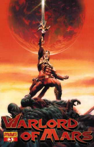 Warlord of Mars #3 1:10 Patrick Berkenkotter Variant Dynamite 2010 HTF