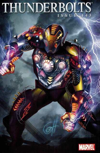 Thunderbolts #143 Iron Man by Design Greg Horn Variant Marvel