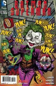 Batman Superman #10 1:25 MAD Variant Tom Richmond