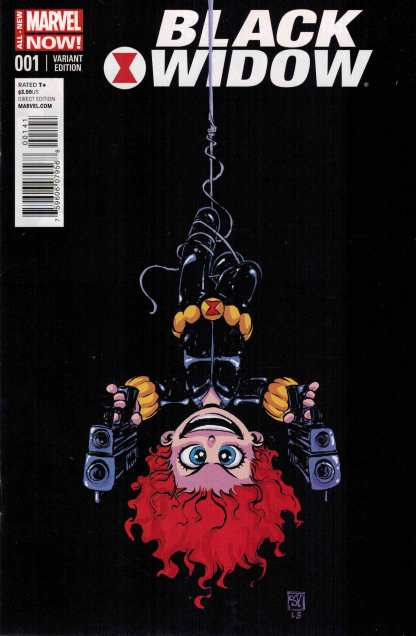 Black Widow #1 Skottie Young Baby Variant All New Marvel Now ANMN