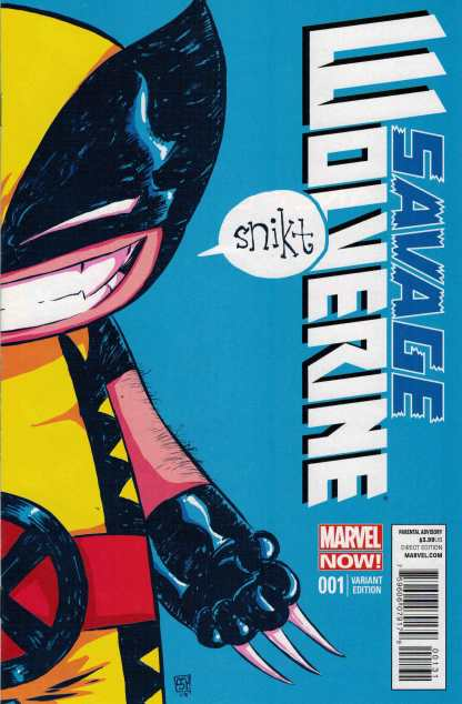 Savage Wolverine #1 Skottie Young Baby Variant Marvel Now