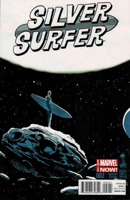 Silver Surfer #2 1:50 Francesco Francavilla Variant ANMN All New Marvel Now