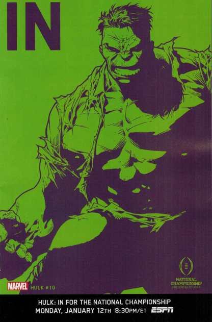 Hulk #10 1:10 IN ESPN Variant ANMN