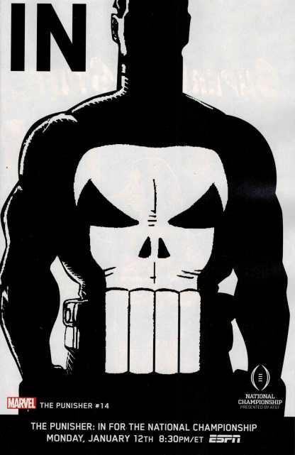 Punisher #14 1:10 ESPN IN Variant ANMN