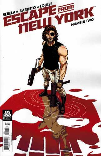 Escape From New York #2 1:10 Riley Rossmo Cover B Hidden Variant