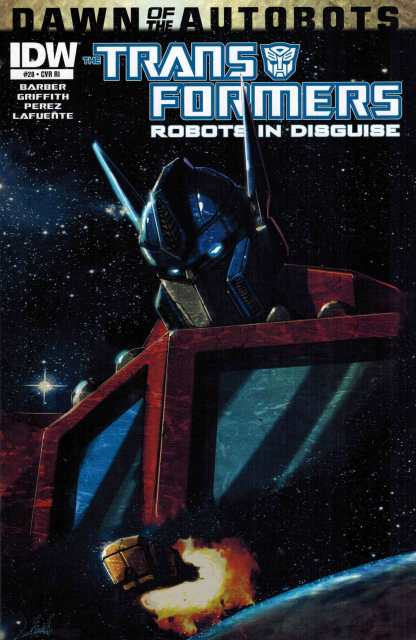 Transformers Robots in Disguise #28 1:10 Retailer Incentive Variant RI