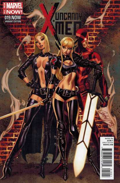 Uncanny X-Men #19 1:50 J Scott Campbell Color Variant