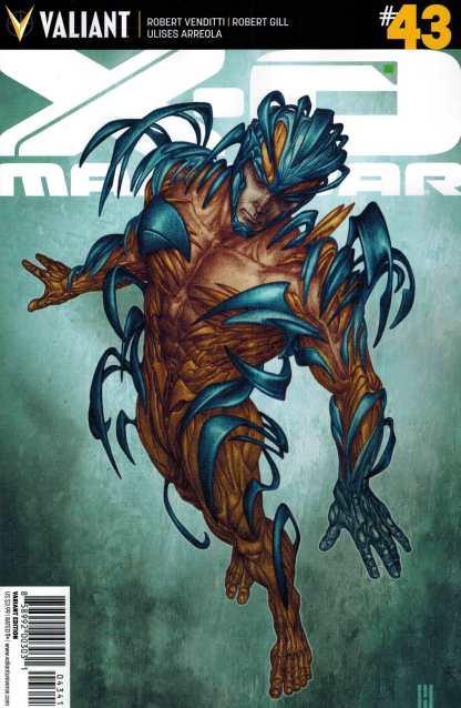 X-O Manowar #43 1:20 Choi Variant Valiant 2012
