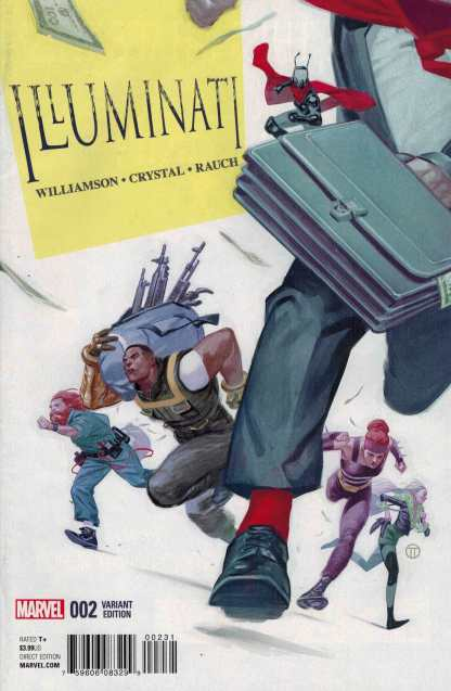 Illuminati #2 1:25 Tedesco Variant Marvel ANAD 2015