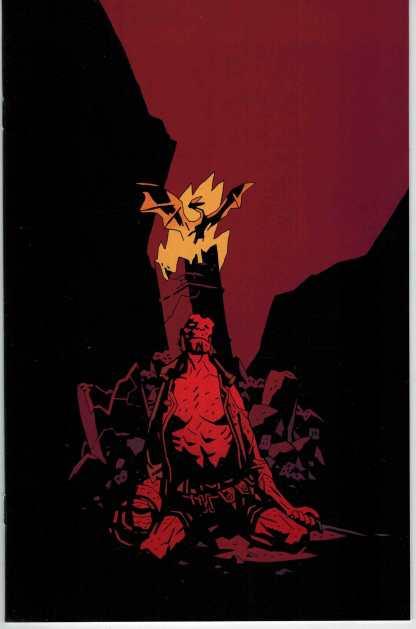 Hellboy the Fury #3 Ultra Rare Retailer Incentive Virgin Art Variant Mignola