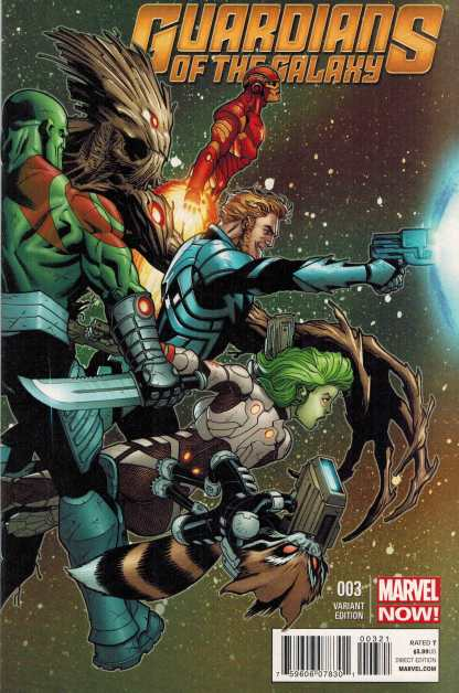 Guardians of the Galaxy #3 1:100 Ed McGuinness Variant Marvel NOW 2013