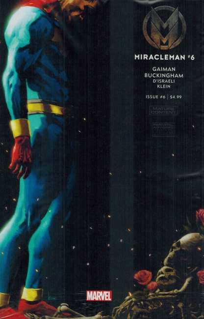 Miracleman by Gaiman and Buckingham #6 1:25 Kaare Andrews Variant Marvel