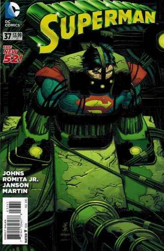 Superman #37 1:100 John Romita Jr Variant Geoff Johns New 52
