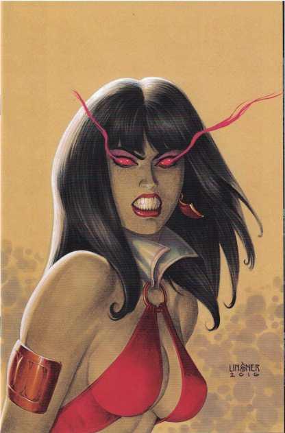 Vampirella #1 1:40 Joseph Michael Linsner Virgin Variant Dynamite 2017
