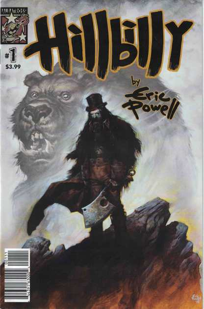 Hillbilly #1 Eric Powell First Print Cover A 1st Printing Albatross Funnybooks