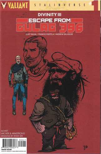 Divinity III Escape from Gulag 396 #1 1:10 Ryan Lee Valiant Variant 2017