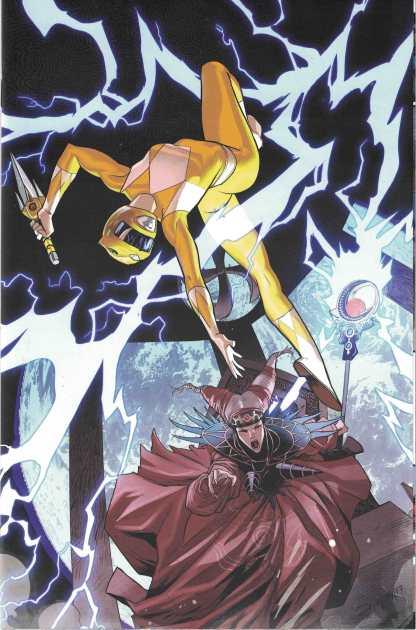 Mighty Morphin Power Rangers #19 1:30 Dan Mora Virgin Variant Boom 2016