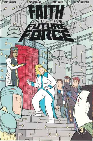 Faith and the Future Force #3 1:10 Douglas Paskiewicz Valiant Variant Cvr C 2017
