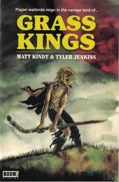 Grass Kings #8 1:10 Matt Kindt Chase Variant Boom Studios Cover B 2017