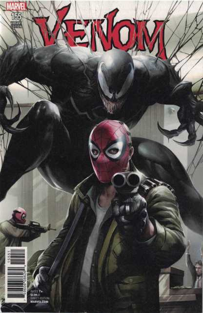 Venom #155 1:50 Francesco Mattina Variant Marvel Legacy 2016