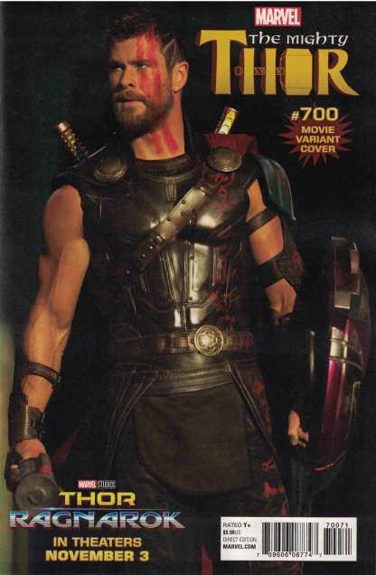 Mighty Thor #700 1:15 Movie Variant Marvel Legacy Ragnarok