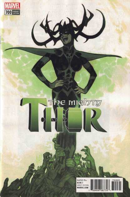 Mighty Thor #700 1:100 Adam Hughes Variant Marvel Legacy