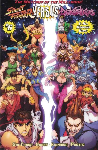 Street Fighter Vs. Darkstalkers #6 1:10 Rob Porter Homage Variant Udon