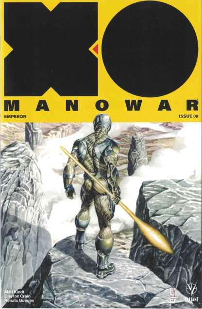 X-O Manowar #8 1:50 JG Jones Valiant Icon Variant 2017