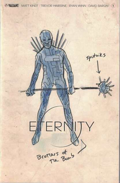Eternity #1 1:20 Matt Kindt Character Design Valiant Variant 2017