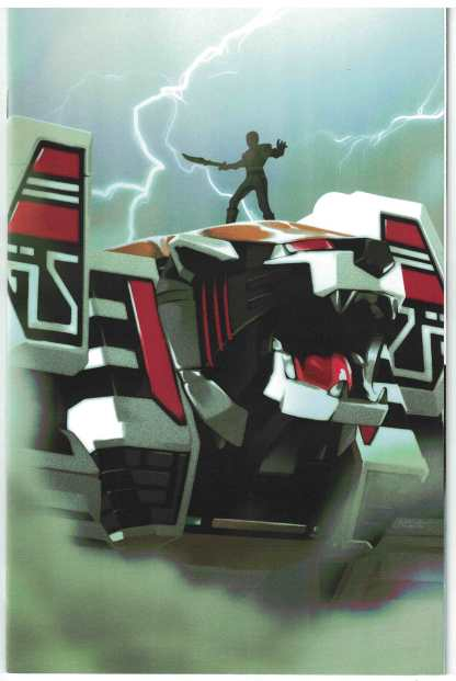 Mighty Morphin Power Rangers #7 1:25 Montes White Tiger Zord Variant 2016