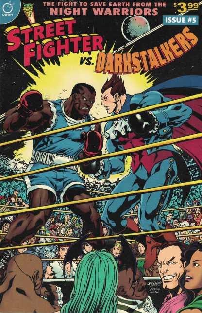 Street Fighter vs Darkstalkers #5 1:10 Joe Ng Variant Cover C Udon 2017