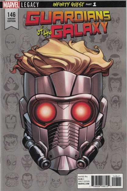 Guardians of the Galaxy #146 1:10 Mike Mckone Headshot Variant Marvel Legacy