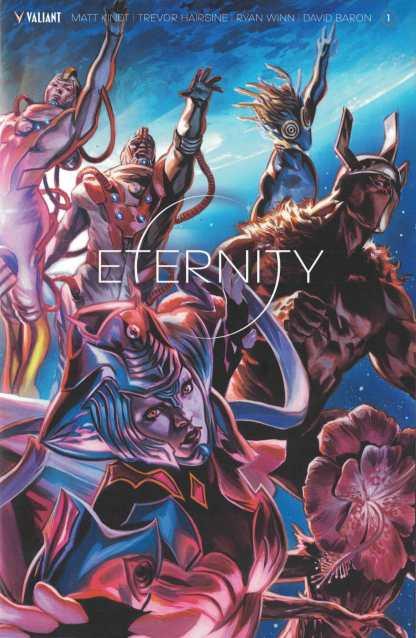 Eternity #1 1:40 Felipe Massafera Valiant Variant Cover F 2017