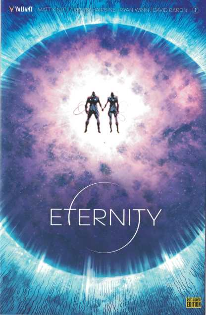 Eternity #1 Pre-Order Edition Trevor Hairsine Valiant Variant Cover F 2017