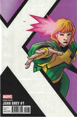 Jean Grey #1 1:10 Leonard Kirk Corner Box Variant Marvel 2017 X-Men