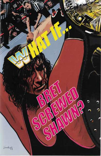 """WWE Survivor Series 2017 Special #1 1:15 Jim Rugg """"What If"""" Variant Boom 2017"""