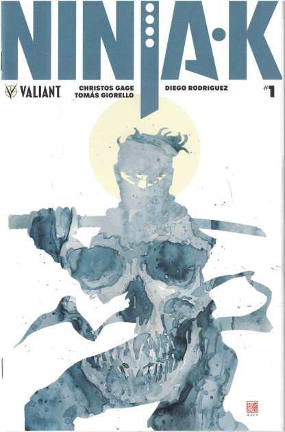 Ninja-K #1 1:50 David Mack Valiant Universe Variant 2017 Ninjak