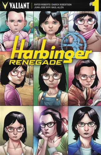 Harbinger Renegade #1 1:10 Clayton Henry Variant Cover G Valiant 2016