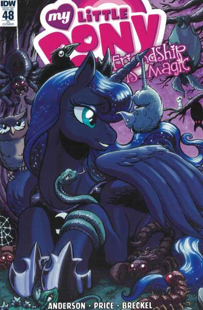 My Little Pony Friendship is Magic #48 1:10 Retailer Incentive Variant RI IDW