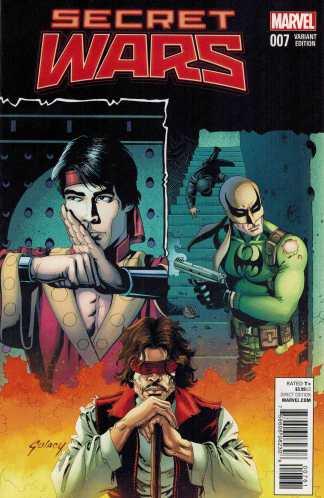 Secret Wars #7 1:25 Gulacy Classic Variant Marvel 2015 SWA