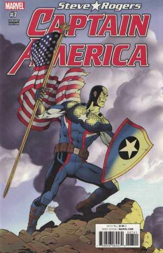 Captain America Steve Rogers #7 1:15 McLeod Classic Variant NOW Marvel 2016