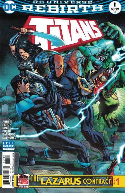 Titans #11 Lazarus Contract Part One DC Rebirth 2016